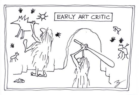 relationship between artist and art critics