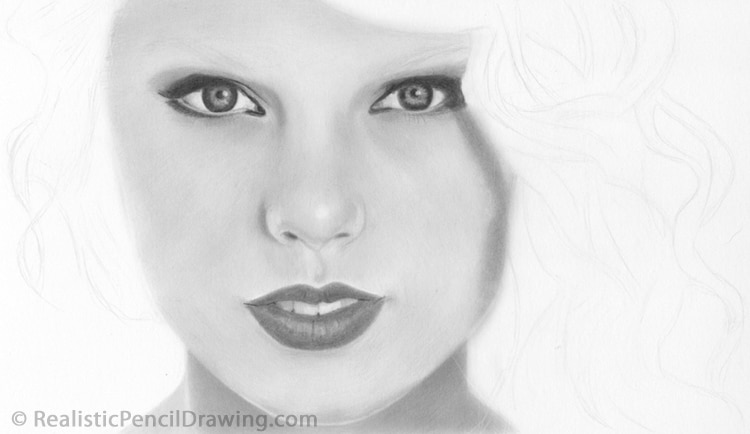 How To Draw Taylor Swift